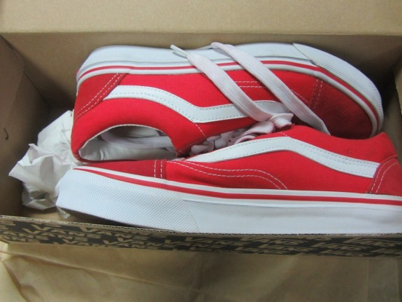 8b406e7c3072 Кеды Vans Old Skool Red