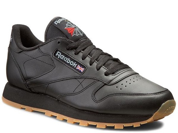 REEBOK CL LTHR BLACK (49800)