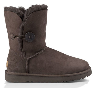 UGG Australia Bailey Button Chocolate