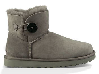 UGG Australia Mini Bailey Button Grey