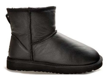 UGG Australia Classic Mini Metallic Black