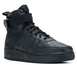 Nike SF Air Force 1 Mid Black (917753 005) фото 9