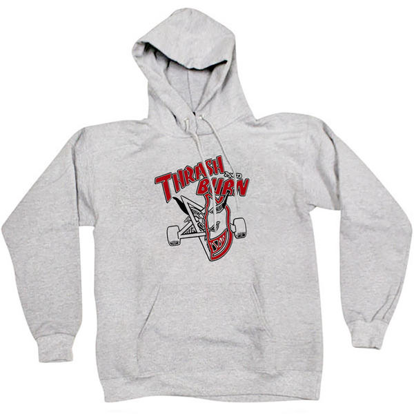 Толстовка Thash & Burn Gray Hood