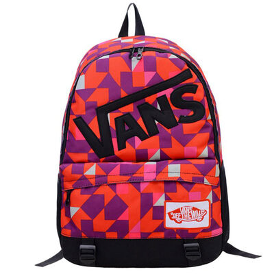 Рюкзак Vans Off The Wall Abstraction Cubism Red