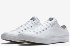 Уцененные Converse Chuck Taylor All Star II Low White (150154С)