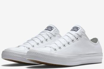 Уцененные Converse Chuck Taylor All Star II Low White (150154С)