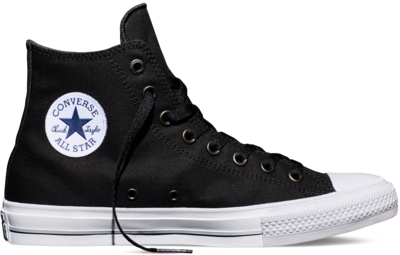 Converse Chuck Taylor All Star II High Black/White/Navy (New Collection!)