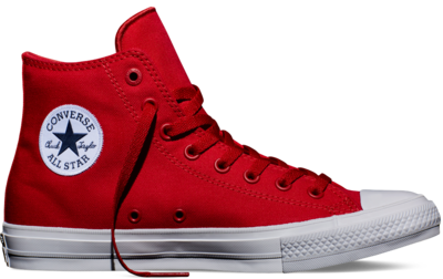 Converse Chuck Taylor All Star II High Salsa Red (New Collection!)