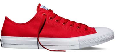 Converse Chuck Taylor All Star II Low Salsa Red (New Collection!)