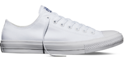 Converse Chuck Taylor All Star II Low White (New Collection!)