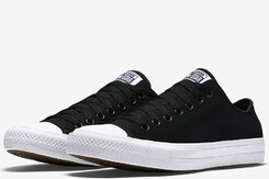 Уцененные Converse Chuck Taylor All Star II Low Black/White/Navy (150149С)