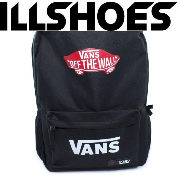 Рюкзак Vans Off The Wall Black Red (Супер Цена!)
