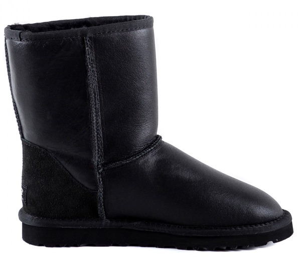 UGG Australia Men Classic Short Metallic Black