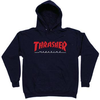 Толстовка Thrasher Magazine Red Dark Blue Hood