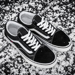 Vans Old Skool Black Fur (с мехом) фото 2
