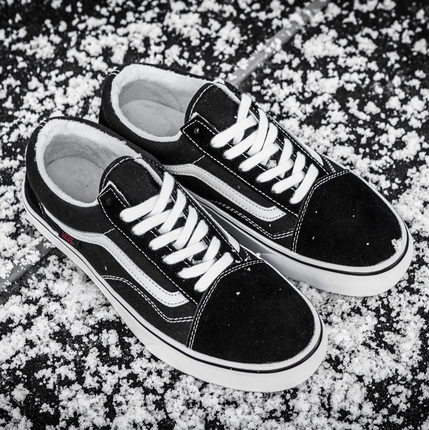 Vans Old Skool Black Fur (с мехом)