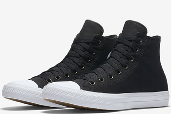 Converse Chuck Taylor All Star II High Black/White/Navy (150143С)