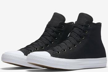 Уцененные Converse Chuck Taylor All Star II High Black/White/Navy (150143С)