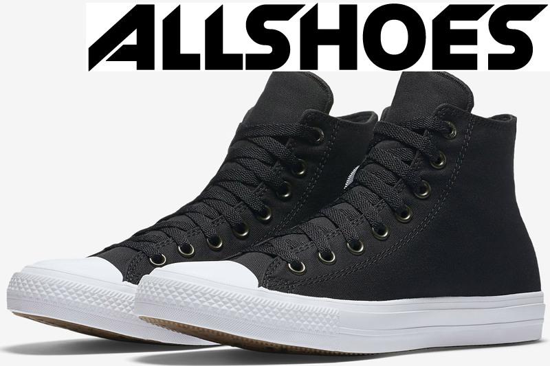 Converse Chuck Taylor All Star II High Black/White/Navy (150143С)