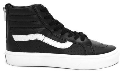 Vans Sk8 Hi Black Leather