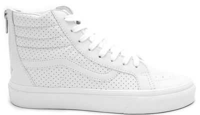 Vans Sk8 Hi White Leather