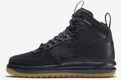 Nike Lunar Force 1 Duckboot Black