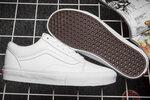 Vans Old Skool Leather Monochrome White фото 3
