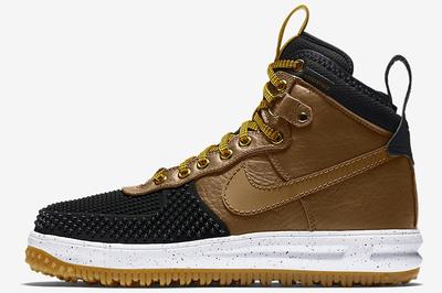 Nike Lunar Force 1 Duckboot Black/Brown