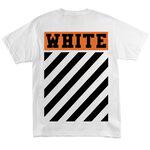Футболка Off White Brick Logo White фото 3