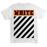 Футболка Off White Brick Logo White фото 3