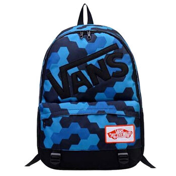 Рюкзак Vans Off The Wall Abstraction Cubism Blue