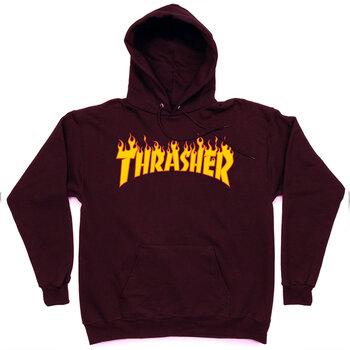 Толстовка Thrasher Vinous Fire Hood