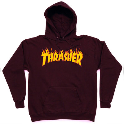 Толстовка Thrasher Vinous Fire Hood