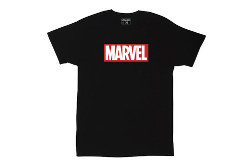 Футболка Logo Marvel Black