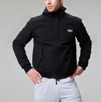 Осенняя куртка Softshell RAGE! SBJ-V1'17 black