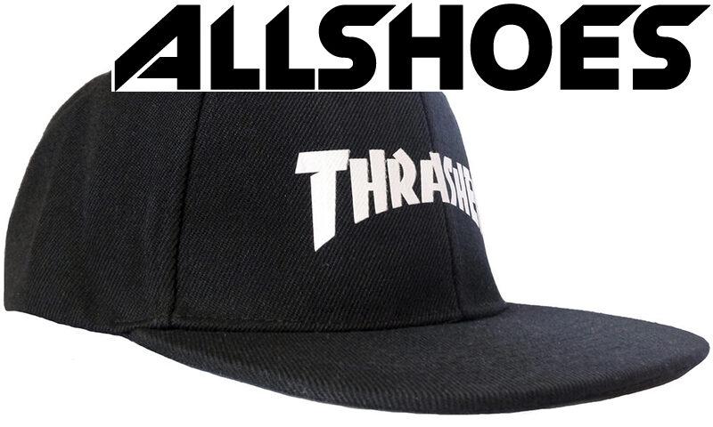 Кепка Thrasher White Logo Black