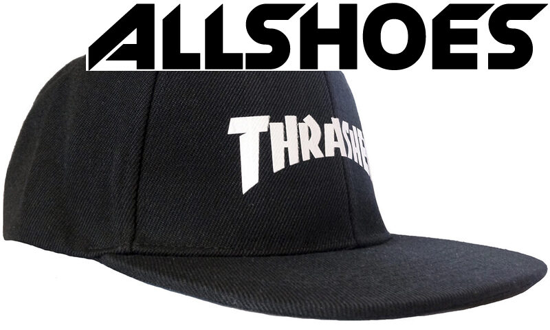 Кепка Thrasher White Logo Black