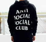 Худи Anti Social Social Club Black фото 2