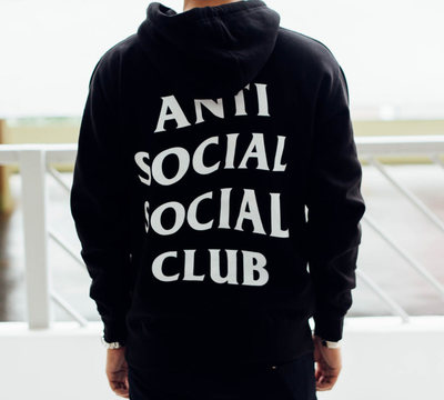 Худи Anti Social Social Club Black