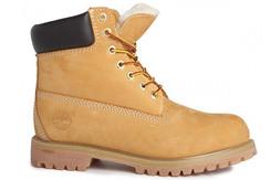 Ботинки Timberland 6 inch Yellow Lite Edition (с мехом)