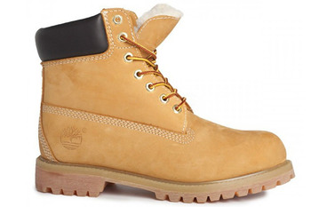 Ботинки Timberland 6 inch Yellow Lite Edition (с мехом)