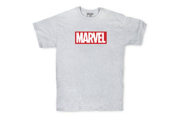 Футболка Logo Marvel Grey