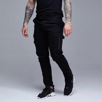 Карго штаны RAGE! RCP-V3'18 Black (Новая коллекция!)