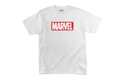Футболка Logo Marvel White