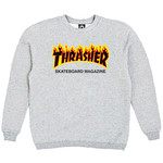 Толстовка Thrasher Fire for Gray фото 2
