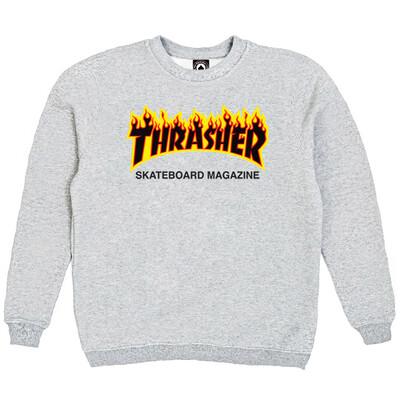 Толстовка Thrasher Fire for Gray