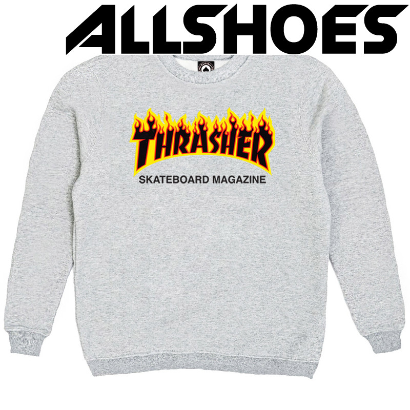 Толстовка Thrasher Fire for Gray