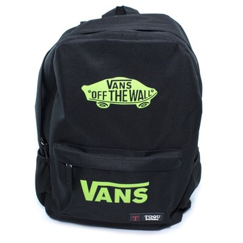 Рюкзак Vans Off The Wall Black Green