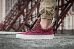 Vans Old Skool Suede Vinous фото 8