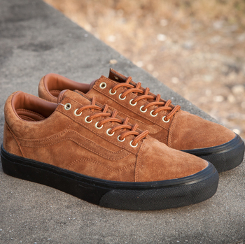 Vans Old Skool Suede Black Brown